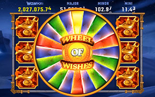 Progressive jackpot screenshot
