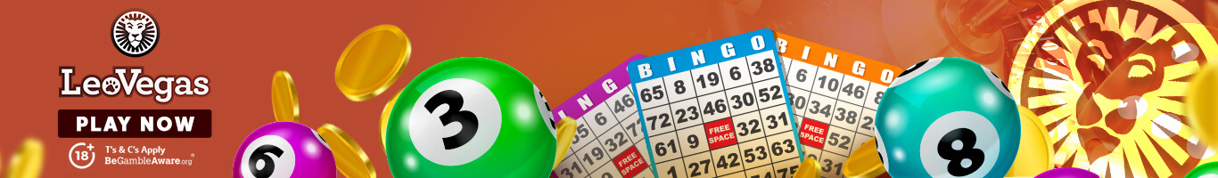 LeoVegas Bingo Banner